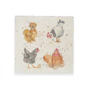 Hens Medium Platter - British Collection by Kate of Kensington