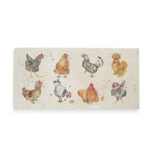 Hens Sharing Platter - British Collection by Kate of Kensington