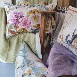 Olbia Italian Linen CottonThrows