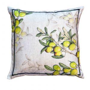 Aida - 55x55 - Italian Linen Cushion
