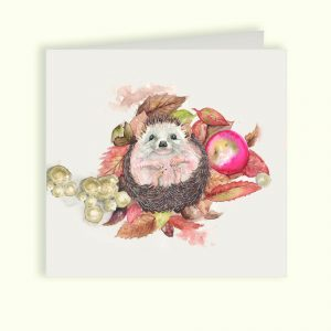Hedgehog Greetings Card - Kate of Kensington