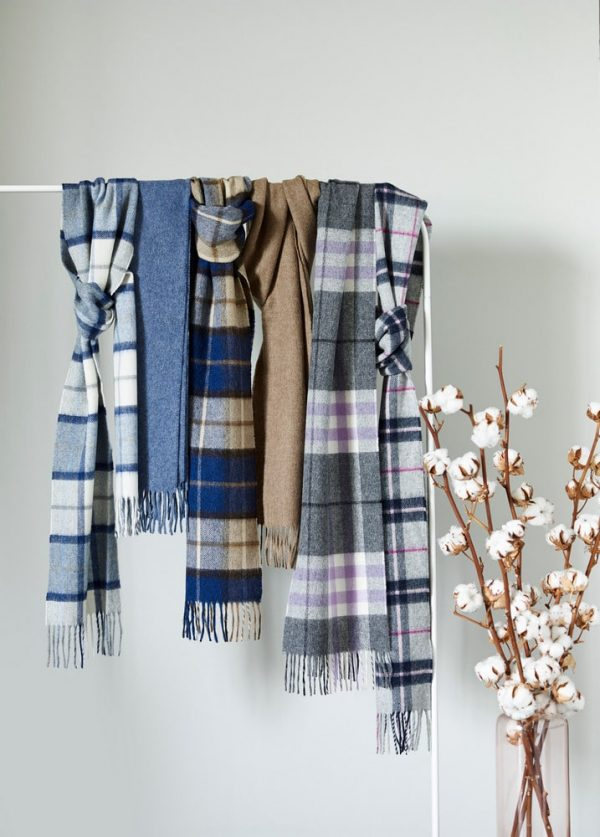 Merino Wool Scarfs Bronte by Moon Dusky Collection