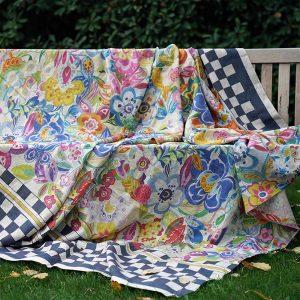 Rio ThrowTablecloth - 100% Linen Made in Italy