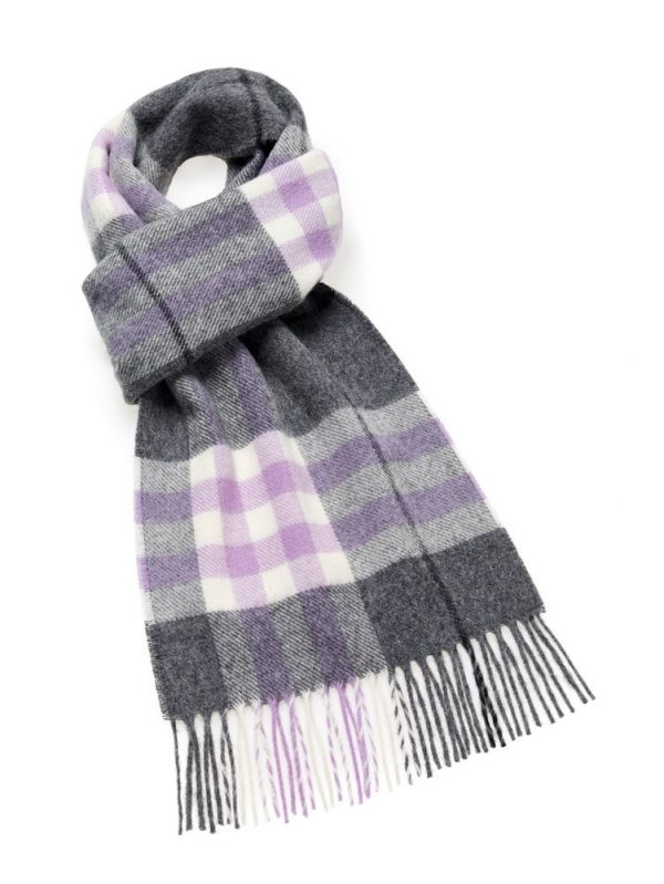 Westminster Scarf - Lilac - Bronte by Moon