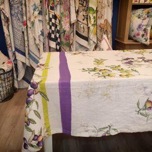 Aida Throw/Tablecloth - 100% Linen Made in Italy