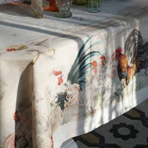 Gauloise Tablecloth 100% Linen Made in Italy