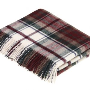 Lambswool Tartan Throw - Dress McDuff - Bronte by Moon