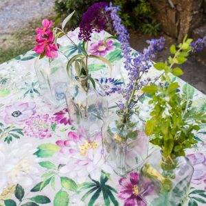 La Vie En Rose Tablecloth