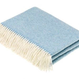 Parquet Aqua Throw - Bronte by Moon