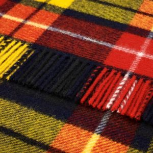 Pure Wool Knee Rug Buchanan Tartan Bronte by Moon