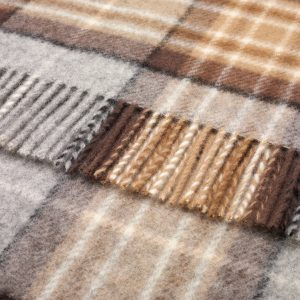 Pure Wool Knee Rug Mckellar Tartan Bronte by Moon