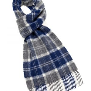 Hereford Multi Scarf - Navy - Bronte by Moon