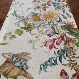 Semiramide vis a vis Table Runner - 100% Linen Made in Italyn Made in Italy