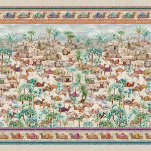 Souk Mezzero Throw/Tablecloth - 100% Linen Made in Italy