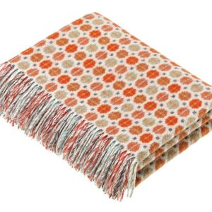 Milan Throw - Saffron - Bronte by Moon