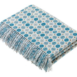Milan Throw - Skye Aqua - Bronte by Moon