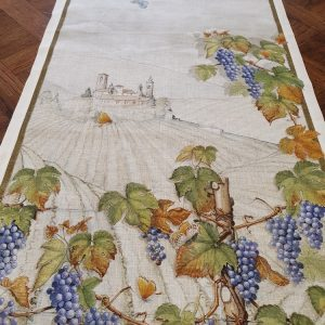 Violetta vis a vis Table Runner - 100% Linen Made in Italy