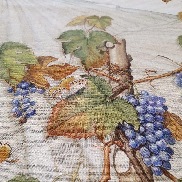 Violetta vis a vis Table Runner - 100% Linen Made in Italy