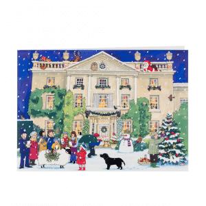 Alison Gardiner Highgrove House Advent Calender Card