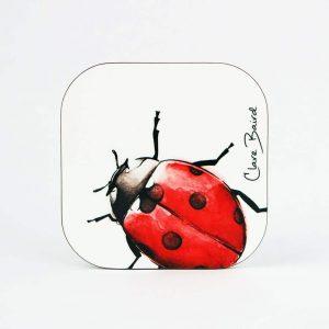 Clare Baird Coaster Ladybird