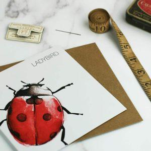 Ladybird Card - Clare Baird