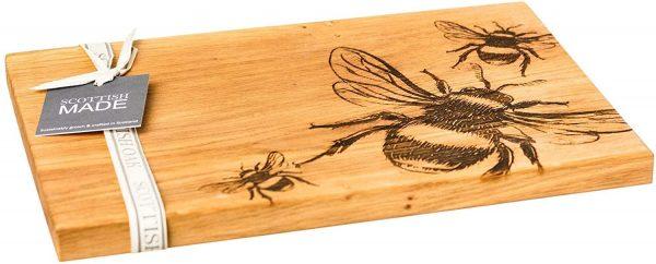 Bumble Bee Serving Board - Scottish Oak