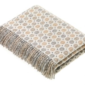 Milan Throw - Natural - Bronte by Moon