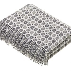 Milan Throw - Grey - Bronte by Moon
