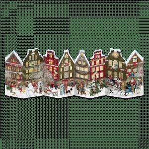 The Christmas Street & Nostalgic Houses Advent Calendar