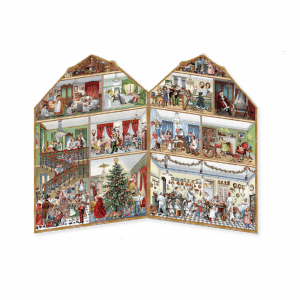 Advent Christmas at Home Calendar Red (Freestanding, Double-sided) INSIDE
