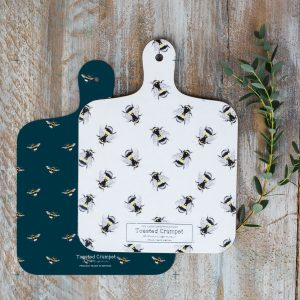 Bee Chopping Board by Toasted Crumpet