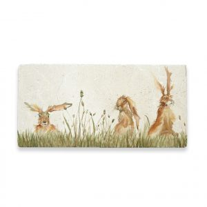 Family 'A' Hare Sharing Platter - Kensington Collection by Kate of Kensington