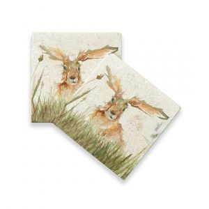 Family A'Hare Coasters (pair) - Kensington Collection by Kate of Kensington