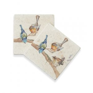 Garden Party Coasters (pair) - Kensington Collection by Kate of Kensington