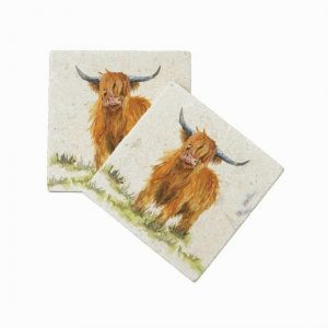 Highland Cow (pair) - Kensington Collection by Kate of Kensington