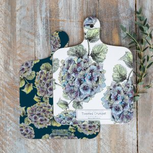 Hydrangea MINI Chopping Board by Toasted Crumpet