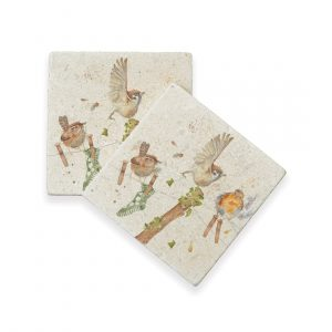 Laundry Day Coasters (pair) - Country Companions by Kate of Kensington