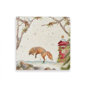 Christmas Post Medium Platter - British Collection by Kate of Kensington