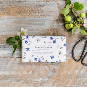 Apple Blossom & Clematis Soap by Toasted Crumpet