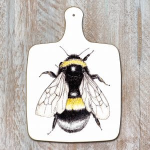 Bumblebee Pure Chopping Board by Toasted Crumpet