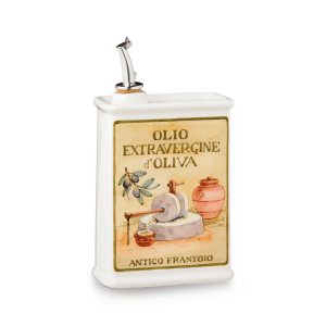 Oliere del Casale Ceramic Olive Oil Cruet (Rectangle, 500ml)