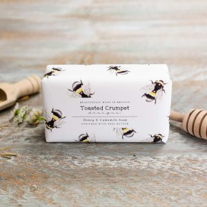 Honey Camomile Soap Toasted Crumpet
