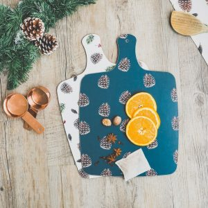 Pine Cone Chopping Board by Toasted Crumpet