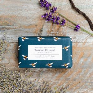 Lavender & Vanilla Soap by Toasted Crumpet
