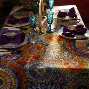 Monreale Tablecloth Cotton Made in Italy