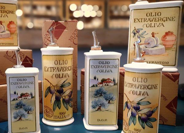 Oliere del Casale Ceramic Olive Oil Cruet
