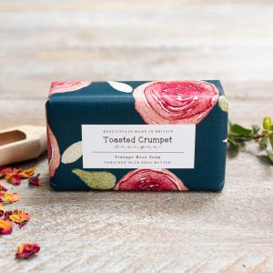 Vintage Rose Soap by Toasted Crumpet