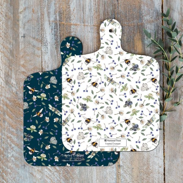 Wild Flower Meadows Mini Chopping Board Toasted Crumpet