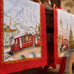 Christmas Express Table Runner
