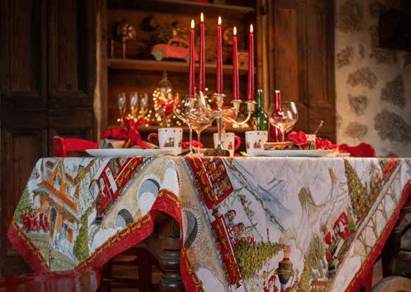 Christmas Express Tablecloth